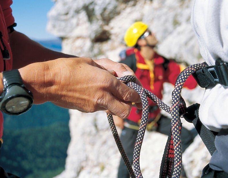 Im Aktivurlaub Klettern und Bergsteigen