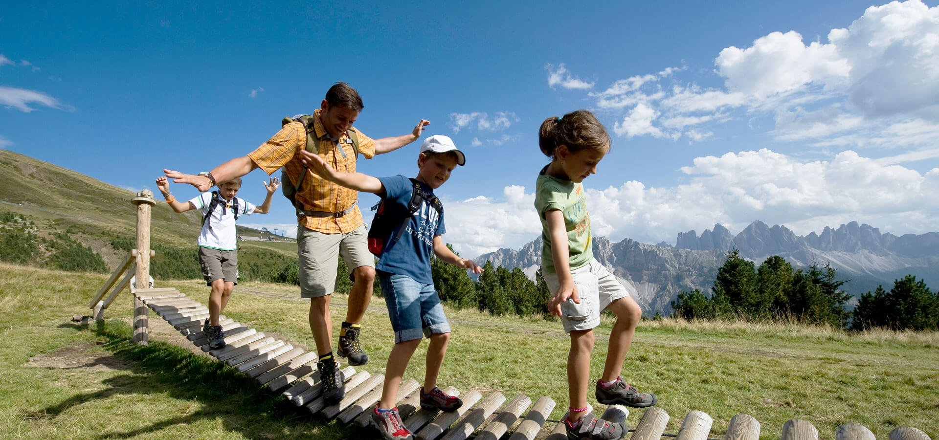 Familienurlaub Südtirol Dolomiten